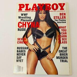Playboy Magazine November 2000 Chyna WWF/E