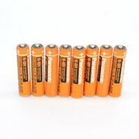 2-12PCS HHR-55AAABU 1.2v 550mAh for Panasonic Cordless phone AAA Ni-MH Battery