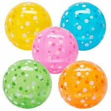 Fun Express Inflatable Polka-Dot Beach Balls 4 pcs per order