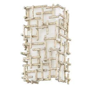 Fredrick Ramond Farrah 2 Light Interior Wall Mount, Silver Leaf - FR33102SLF