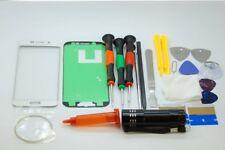 SAMSUNG S6 PLUS bordo Vetro Schermo bianco Set di riparazione, colla, cacciaviti, strumenti