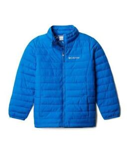 COLUMBIA Big Boy's S, L, XL Super Blue Powder Lite Jacket $110