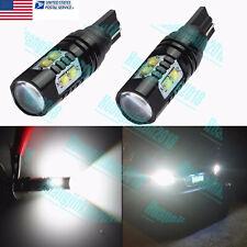 2xSuper White 50W LED 6000K HighPower 921 912 T10 T15 Backup Reverse Lights Bulb