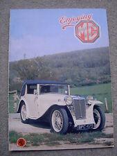 Enjoying MG (June 1990) MGB sales literature, MG L1 Carlton Magna, Petrol pumps