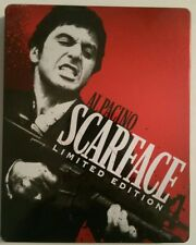 Scarface (Blu-ray/DVD Limited Edition, 2011) Steelbook