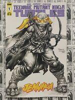 Teenage Mutant Ninja Turtles Jennika (2020) IDW - #1, 1:25 Williams Variant,VFNM