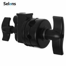 Studio Grip Head Swivel Adapter Clamp Holder for Light Stand C Stand Accessory