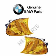 For BMW E46 3-Series Pair Set of Front Left & Right Turn Signal Lights Genuine