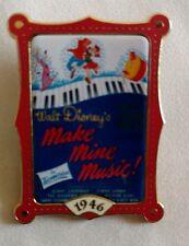 "Disney Pin ""12 Months Of Magic"" Make Mine Music. 1946 Movie Poster Pin"