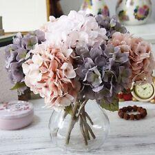 Artificial Hydrangea  Flowers  DIY Gift Wedding Christmas Decor For Home