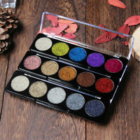 Shimmer Glitter Eye Shadow Powder Palette Matte Eyeshadow Five colors Makeup