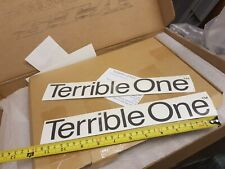 Genuine Terrible One Decal Barcode Bmx Mid School ***ONE DECAL ONLY***