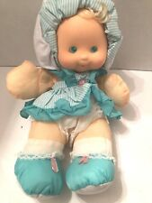 Nice 1991 Fisher Price # 4076 Puffalump Dress Up Baby 13 Inches No Box