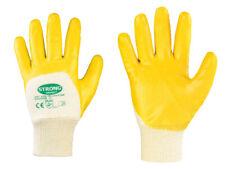 12 Paar Nitril Werkstatt Arbeitshandschuhe Stronghand 0550 Yellostar Gr. 11