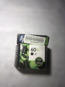 HP 60XL Black Ink OEM GENUINE Cartridge NEW Sealed Exp July 2022