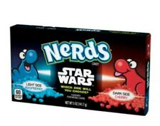 12 Star Wars Nerds Theater Candy Boxes Light/Dark Side Raspberry & Cherry 2021