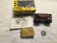 Vintage VARNEY HO SCALE BOX CAR OM-12 ORE CAR Milwaukee Rust Pro Type Kit