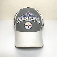REEBOK Pittsburgh Steelers NFL SUPER BOWL XL Champions Adjustable Cap Hat