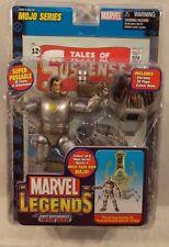 Marvel Legends Iron Man 1st Appearance Silver Armor Mojo BAF Series ToyBiz (MIP)