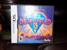 Bejeweled 3 (Nintendo DS, 2011) EUC FREE USA SHIPPING