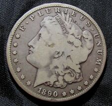 1890-CC $1 Morgan Silver Dollar