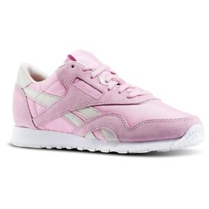 Reebok Classic Nylon X FACE Womens Trainer Pink UK Size 3.5 to 6.5 New Runner