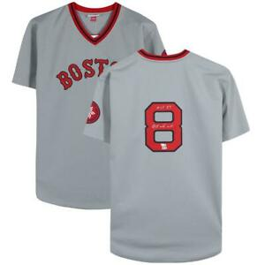 "CARL YASTRZEMSKI Autographed ""HOF 89"" Boston Red Sox Authentic Jersey FANATICS"