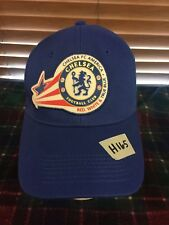 Men's VGUC CHELSEA FOOTBALL CLUB Blue Adjustable Hat H165