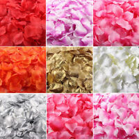 100× Simulation Rose Confetti Petals Wedding Party Table Supplies Decorations
