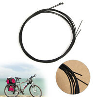 2pcs Bike Bicycle Front Brake Shift Cable Rear Derailleur Wire  Coated MTB