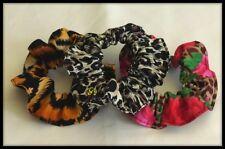 3 Gomas Pelo Animal Print Tie banda Hairband Ponytail Diadema Vestido De Tela