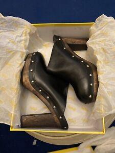 SPORTSGIRL STRUTT.. Womens Clogs The Clog Black Size 10 RRP $129.95 NWT
