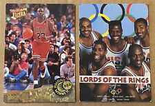 MICHAEL JORDAN 1992-93 Fleer Ultra Award Winner NBA MVP Card+OLYMPIC DREAM TEAM