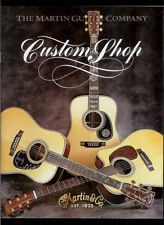 2000 CF Martin Guitar Custom Shop Brochure/Catalog Inlays Patterns Fingerboards