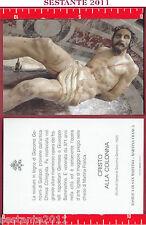 3477 SANTINO HOLY CARD CRISTO ALLA COLONNA MARTINA FRANCA BASILICA SAN MARTINO