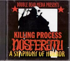 KILLING PROCESS Nosferatu: A Symphony of Horror CD Goth/Punk Soundtrack SEALED