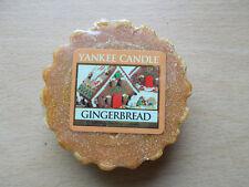 Yankee Candle Usa Rare Gingerbread Wax Tart