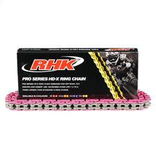 Pink 520 RHK HD X-Ring Chain Fit Yamaha etc