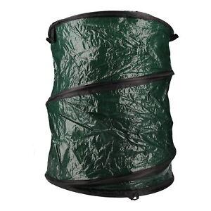Collapsible Garden Rubbish Waste Storage Bag Bin Sack Pop Up Weeds Leaves