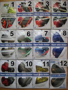 Arai Helmet Shield/Visor Side Cover Pod-Holder Set - SAL SAQ SAI RX7 Corsair NEW