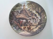 THE VILLAGE SMITHY Plate Robert Hersey Coalport China Tale of a Country Village