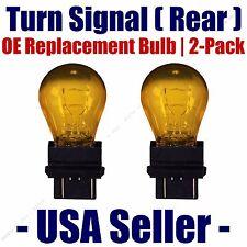 Rear Turn Signal/Blinker Light Bulb 2-pack Fits Listed Chrysler Vehicles 3757NAK