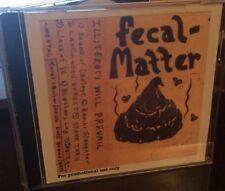 Kurt Cobain FECAL MATTER - ILLITERACY WILL PREVAIL Cassette  CD Nirvana