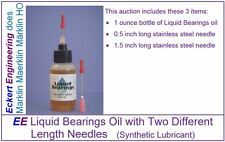 EE Liquid Bearings Oil with Two Needles for Marklin (Synthetic Lubricant)