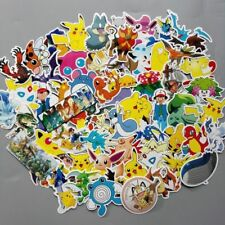 10 x POKEMON pikachu  individual Stickers  - birthday Party Bag Fillers