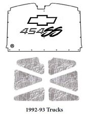 1992 1993 Chevrolet Truck Under Hood Cover with G-012 SS454 (SCRIPT)