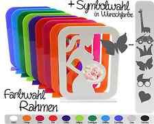 Bilderrahmen Ultraschallbild Geschenk Erinnerung Foto Schwangerschaft FARBWAHL!