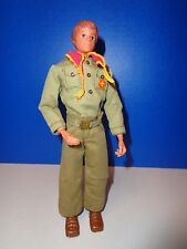 "VINTAGE 1974 KENNER STEVE SCOUT 9"" BOY SCOUT ACTION FIGURE"