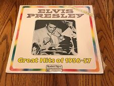 ELVIS PRESLEY GREAT HITS OF 1956-57 LP   SEALED !