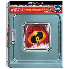 The Incredibles 2 - Best Buy Exclusive Steelbook (Blu-ray + 4K UHD) BRAND NEW!!